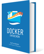 Book cover: Docker Entdecken