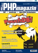 Cover PHPmagazin 5.15: PouchDB!, March 2015